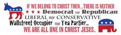 Belong to Christ- Bumper Sticker