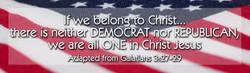 One in Christ 2- Bumper Sticker