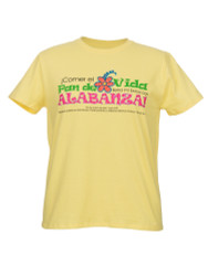 Pan de Vida-La camiseta (Amarillo-Espanol)  Bread of Life-T-shirt (Yellow-Spanish)