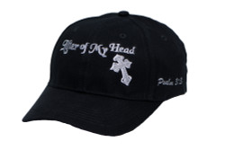Men's Hat-Lifter of My Head- Black