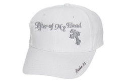 Men's Hat-Lifter of My Head- White