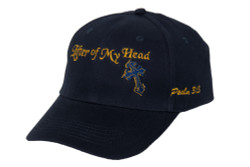 Men's Hat-Lifter of My Head-Navy Blue
