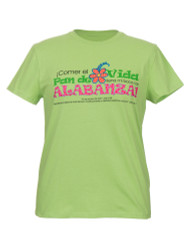 Pan de Vida- La camiseta (Verde lima-Espanol)  Bread of Life-T-shirt (Green-Spanish)