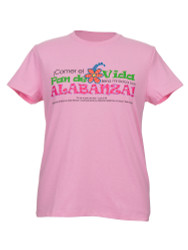 Pan de Vida-La camiseta (Rosa-Espanol)  Bread of Life-T-shirt (Pink-Spanish)
