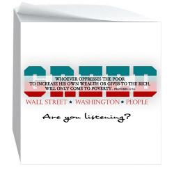 Greed-Sticky Notecube