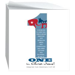 One in Christ-Sticky Notecube