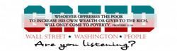 Greed - Bumper Sticker