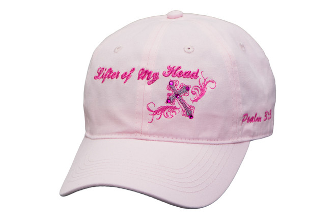 Women's Hat-Lifter of My Head- Pink
