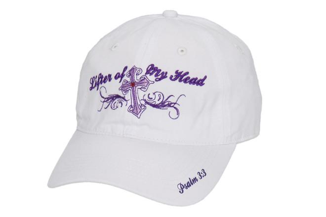 Women's Hat-Lifter of My Head-White