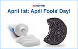 April 1st: April Fools' Day!