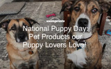 National Puppy Day: Pet Products our Puppy Lovers Love!