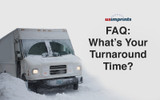 Placing an Order: What's Your Turnaround Time? [FAQ]
