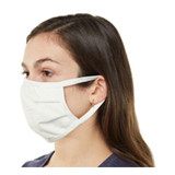 Bulk Economy - Reusable 3-Ply 100% Cotton Face Mask - Side