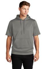 Sport-Tek Sport-Wick Fleece Short Sleeve Hooded Pullover (00669-25); Primary; Decoration Type: