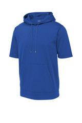 Sport-Tek Sport-Wick Fleece Short Sleeve Hooded Pullover (00669-25); Front; Decoration Type: