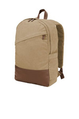 Port Authority Cotton Canvas Backpack (00742-25); High; Decoration Type: