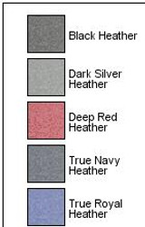 Sport-Tek Ladies Posicharge Sport-Wick Heather Fleece Hooded Pullover (01634-25); Swatch; Decoration Type: