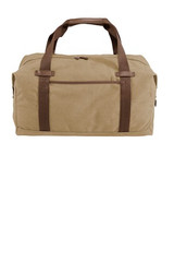 Port Authority Cotton Canvas Duffel (01757-25); Primary; Decoration Type: