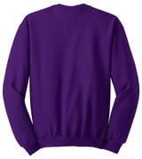 Jerzees - Nublend Crewneck Sweatshirt (00340-25); Rear; Decoration Type: