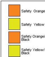 Port Authority Enhanced Visibility Cap (00863-25); Swatch; Decoration Type: