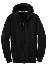 Sport-Tek Super Heavyweight Full-Zip Hooded Sweatshirt (01813-25); Front; Decoration Type: