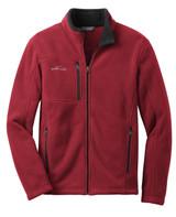 Eddie Bauer - Full-Zip Fleece Jacket (01635-25); Front; Decoration Type: