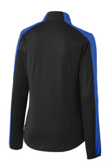 Port Authority Ladies Active Colorblock Soft Shell Jacket (01054-25); Rear; Decoration Type: