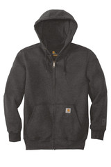 Carhartt Rain Defender Paxton Heavyweight Hooded Zip-Front Sweatshirt (00740-25); Front; Decoration Type: