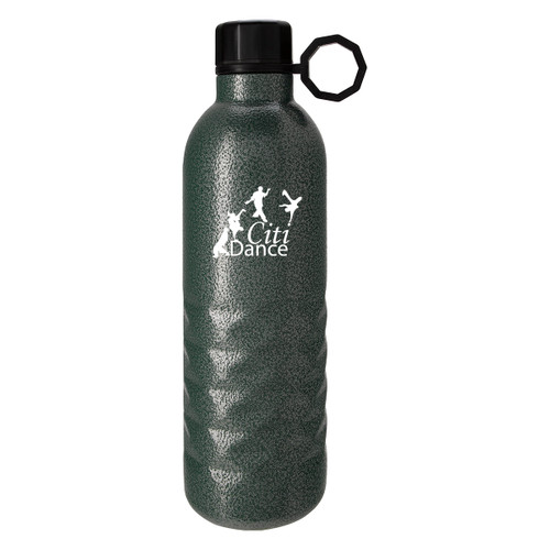 17 Oz. Arlington Hammered Stainless Steel Bottle (03387-00); Primary; Decoration Type: Silk-Screen