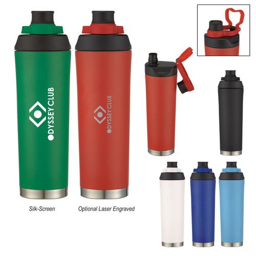 22 Oz. Davenport Stainless Steel Bottle (03422-00); Primary; Decoration Type: