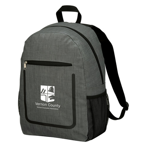 Slade Backpack (03444-00); Primary; Decoration Type: Silk-Screen
