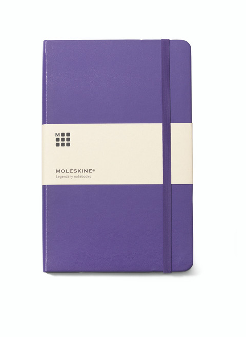 "Moleskine® Hard Cover Ruled Large Notebook 8.25"" x 5"""