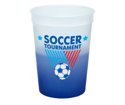 12 oz. Color Changing Mood Plastic Cup