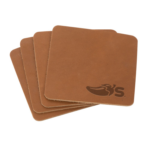 Tanner Coaster Set (4) (00178-08); ; Decoration Type: