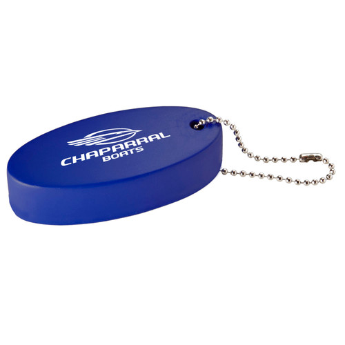 Oval Floater Key Tag
