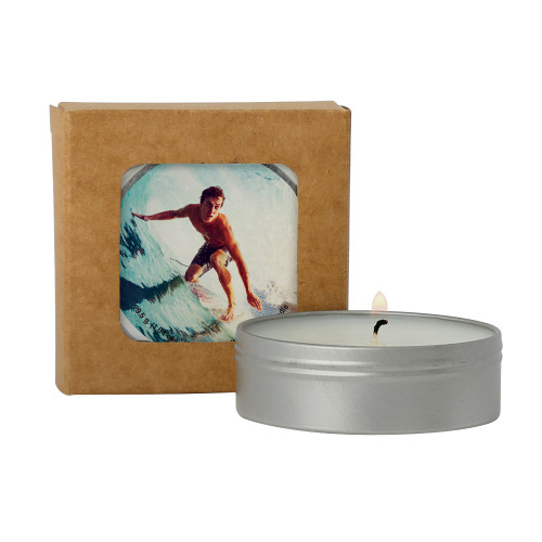 2 Oz. Scented Candle In Kraft Window Box (00280-08); ; Decoration Type: