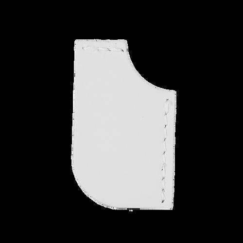 Dogear Leather Corner Bookmark (00317-08); ; Decoration Type:
