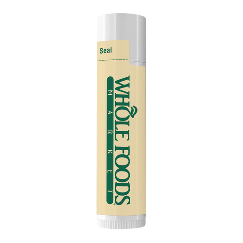 Natural Lip Moisturizer With Organic Ingredients In White Tube (00335-08); ; Decoration Type: