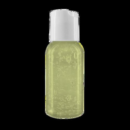 1 Oz. Aloe Gel In Clear Round Bottle (00432-08); ; Decoration Type: