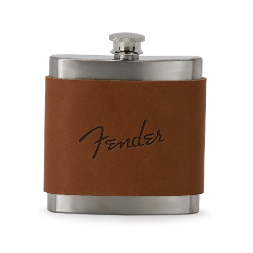 Brannigan Leather Wrapped Stainless Steel Flask (00750-08); ; Decoration Type: