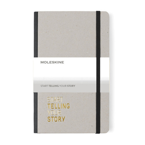 Moleskine® Time Collection Ruled Notebook (00765-10); Black