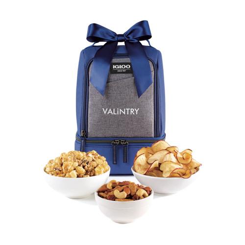 Igloo® Rowan Nosh Gourmet Lunch Cooler (00743-10); New Navy