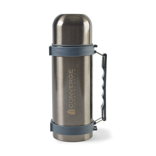 Aviana™Fallon Double Wall Stainless Beverage Bottle - 34 Oz. (00738-10); Charcoal