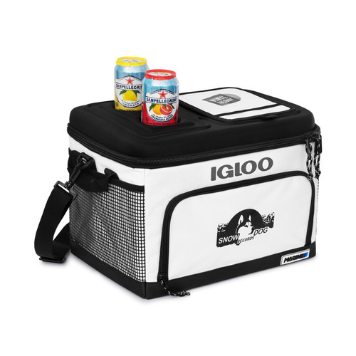 Igloo® Marine Box Cooler (00450-10); White; Decoration Type: PrimaryDecorated