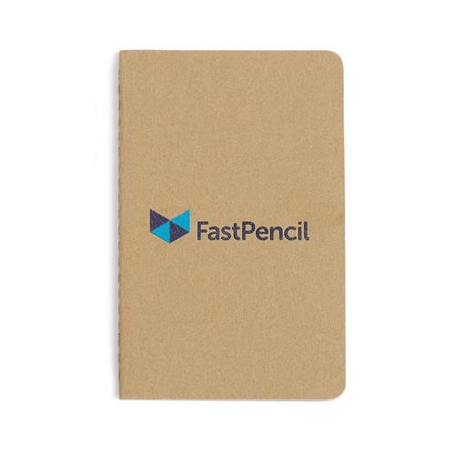 Moleskine® Cahier Plain Pocket Journal (00086-10); Kraft