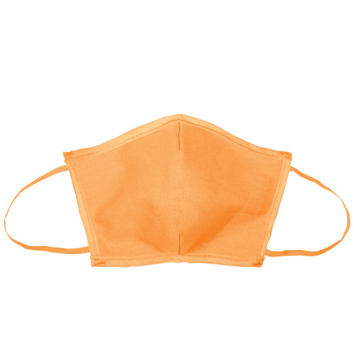 Flat Fold Canvas Face Mask W/ Elastic Loops (00002-26); Primary; Decoration Type: Silk-Screen