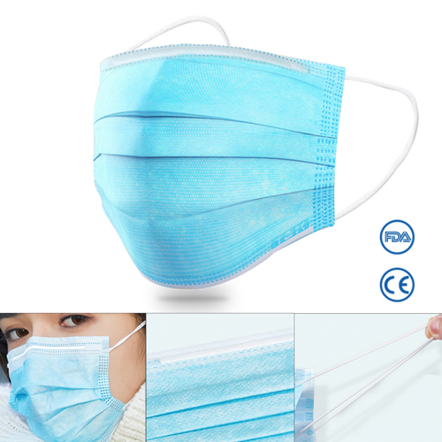 Disposable Personal Protective Face Mask Bulk
