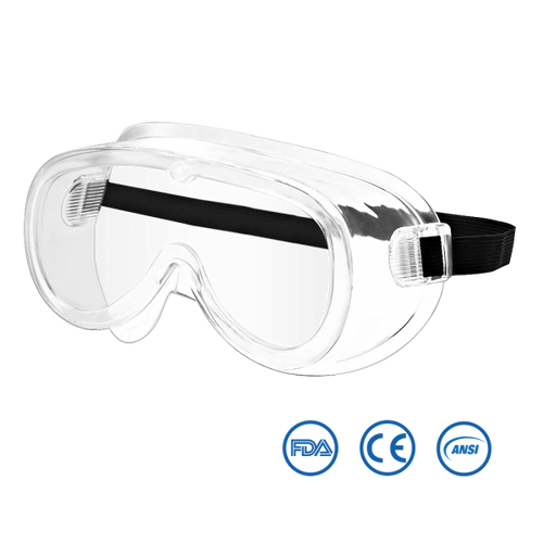 Isolation Safety Goggles - Eye Mask - PPE - Usimprints