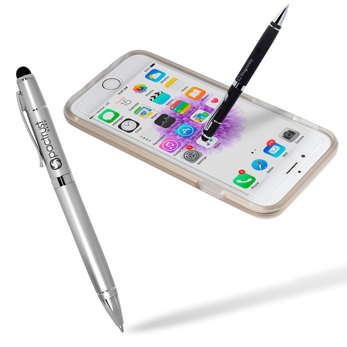 Matte Metal Touch Screen Stylus (01544-19); Primary; Decoration Type:
