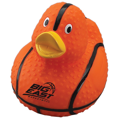 Basketball Rubber Duck (01548-19); Primary; Decoration Type: